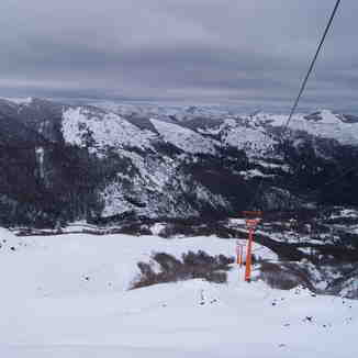 New chairlift WENCHE, Nevados de Chillan