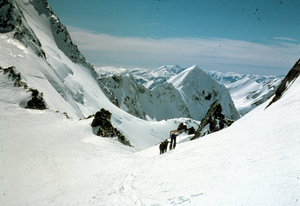 Tasman saddle 1980, Aoraki-Mt Cook photo