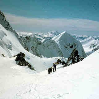 Aoraki-Mt Cook Snow: Tasman saddle 1980