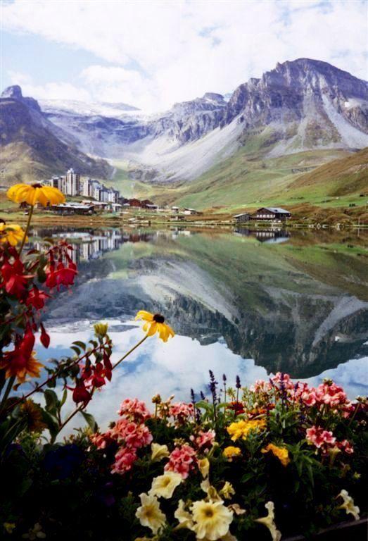 Summer reflections, Tignes