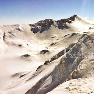View from top of Odisseas lift, Mount Parnassos