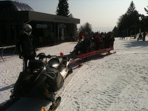 snowtaxi belvue-areh Mariborsko pohorje photo