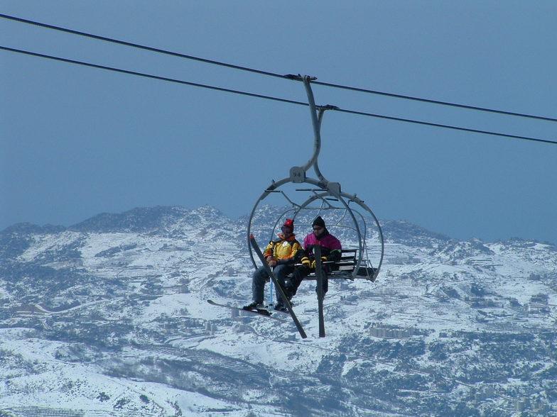 Faraya Mzaar (lift), Mzaar Ski Resort