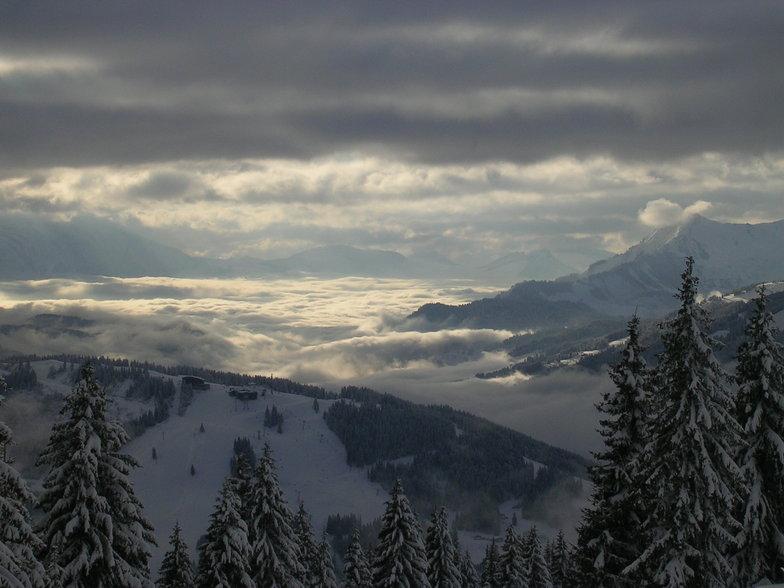 French alps, Avoriaz