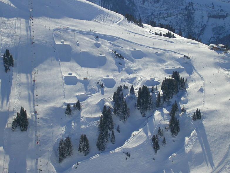 Avoriaz snow