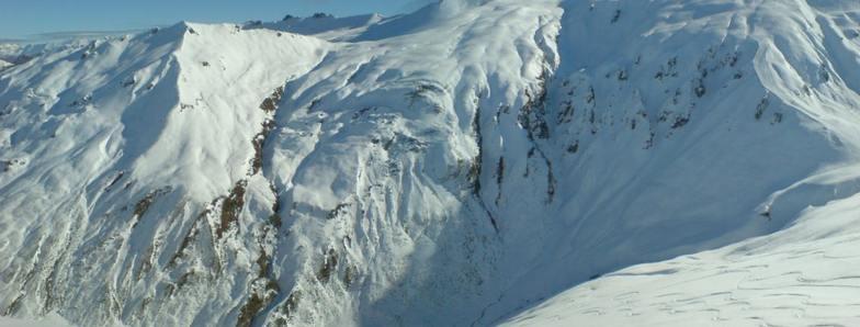The chutes, Treble Cone