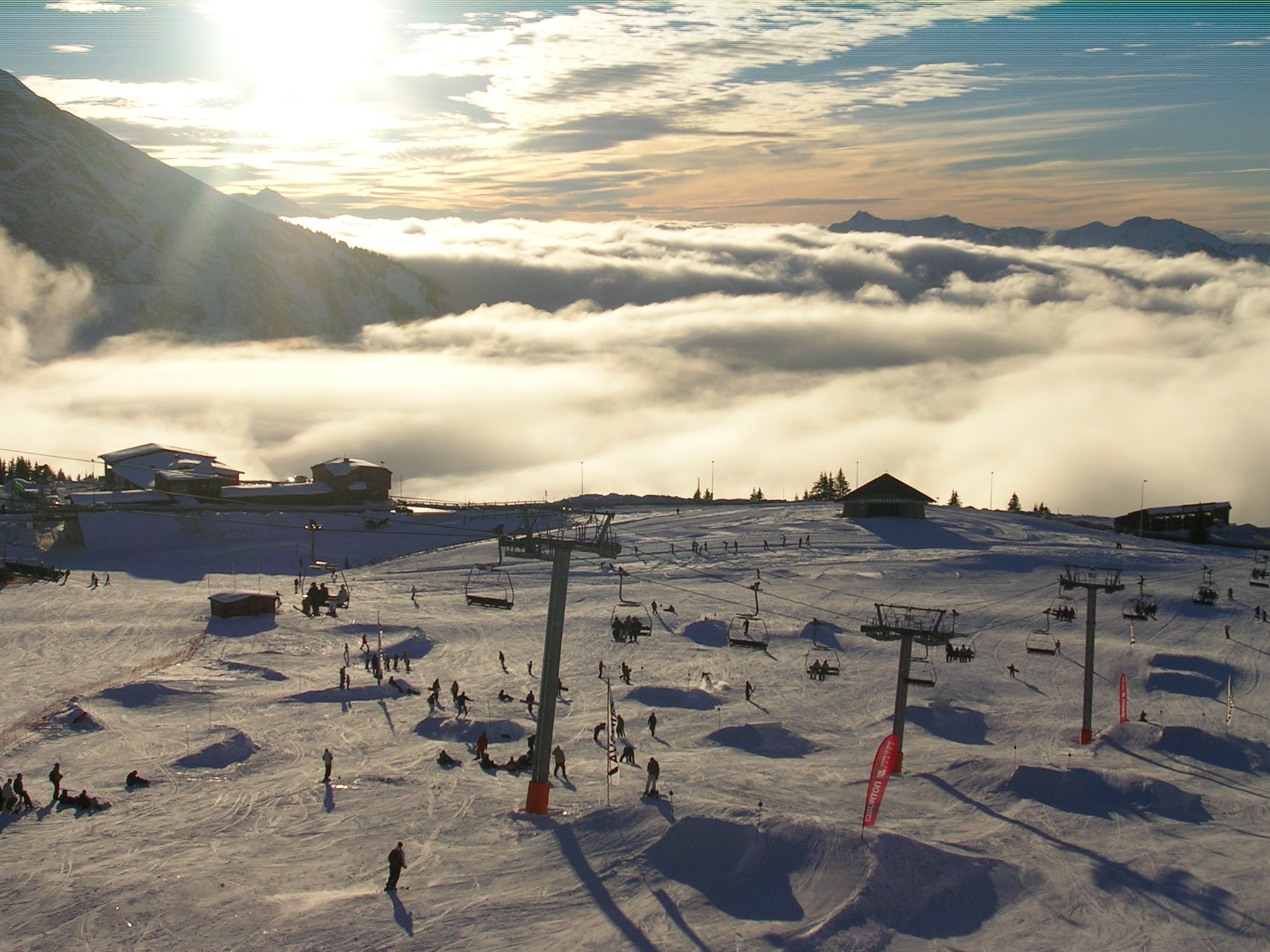 park on top of the world, Avoriaz