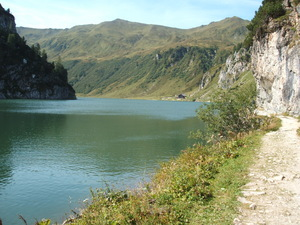 Tapenkasee Lake in Summer. Wonderfull!!!, Wagrain photo