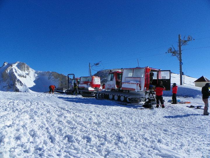 Cat skiing, Las Leñas