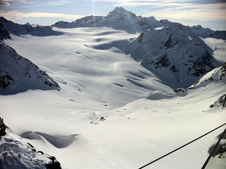 Вот где много снега !, Sölden