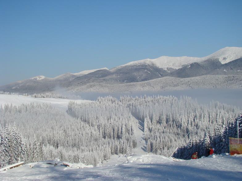 Bukovel snow