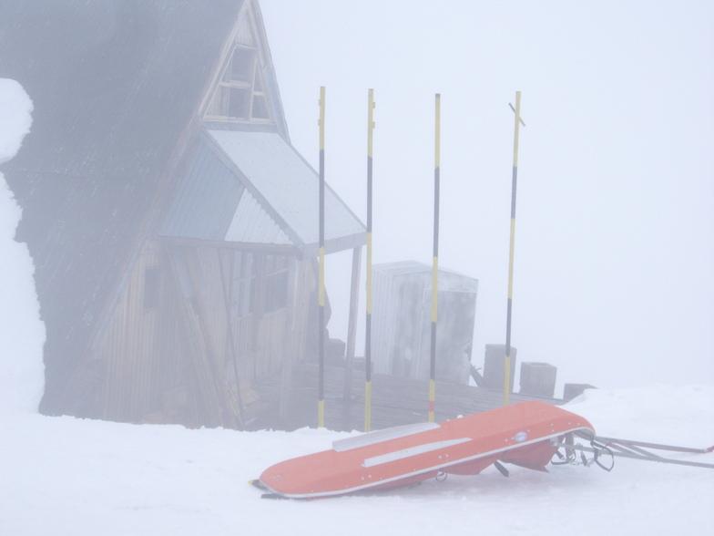Alto do teleski OTTO, Nevados de Chillan