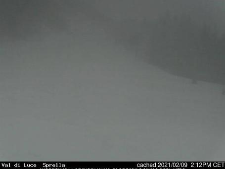 Abetone webcam at lunchtime today