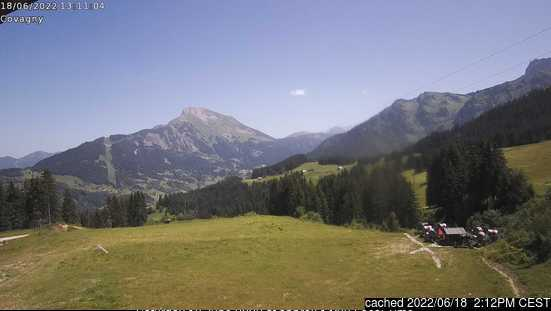 Abondance webcam at 2pm yesterday