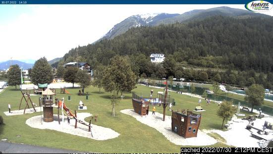 Achenkirch am Achensee webcam at lunchtime today