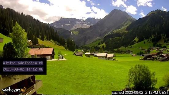 Webcam de Adelboden à 14h hier