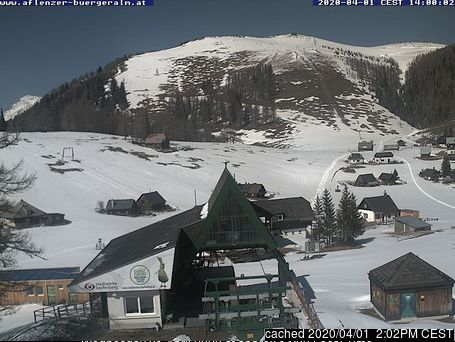 Aflenz webcam at lunchtime today