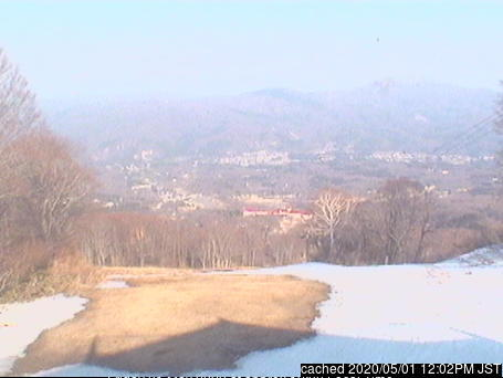 Akakura Kanko webcam at lunchtime today