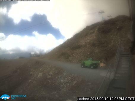 Webcam de Alagna à 14h hier