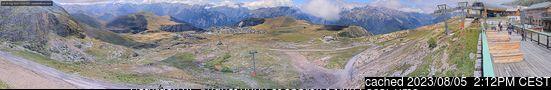 Alpe d'Huez webbkamera vid kl 14.00 igår