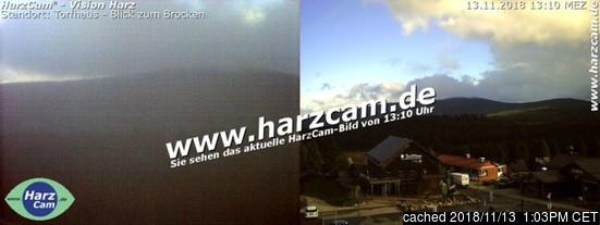 dün saat 14:00'te Altenau'deki webcam