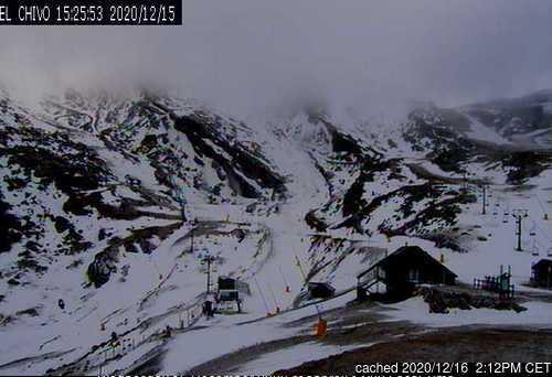 dün saat 14:00'te Alto Campoo'deki webcam