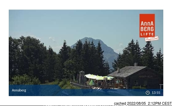 Annaberg webcam at 2pm yesterday