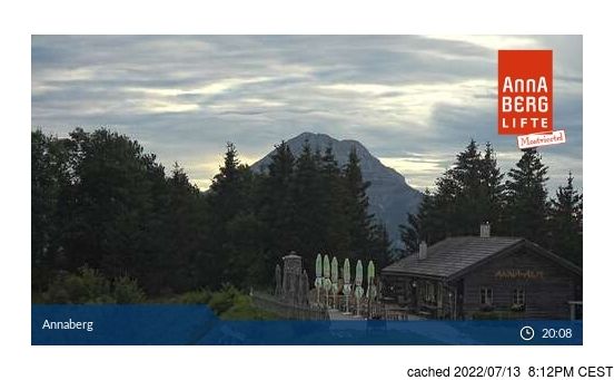 Live Sneeuw Webcam voor Annaberg