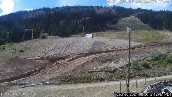 Apex Resort webcam at 2pm yesterday