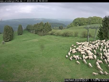 Arnsberg webcam às 14h de ontem