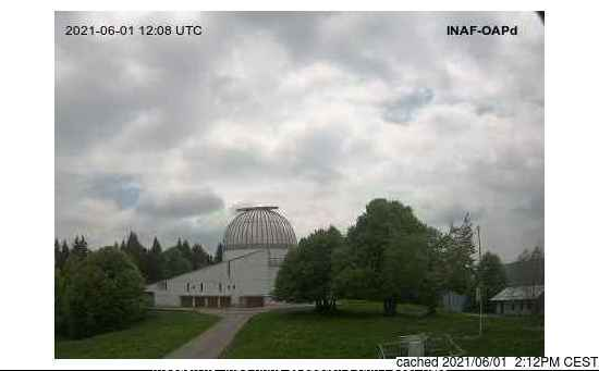 Asiago webcam at lunchtime today