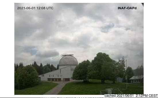 Webcam de Asiago a las 2 de la tarde ayer