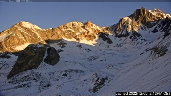 Webcam de Aussois a las 2 de la tarde ayer