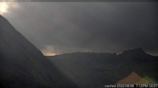 Live webcam per Aussois se disponibile