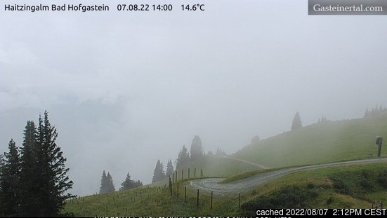 Bad Hofgastein webcam at lunchtime today