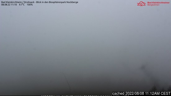 Bad Kleinkirchheim webcam at lunchtime today