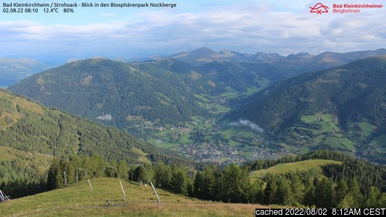 Live webcam per Bad Kleinkirchheim se disponibile