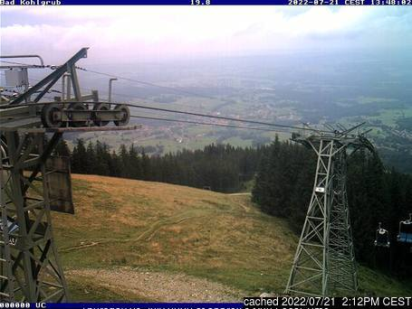 Bad Kohlgrub webcam all'ora di pranzo di oggi