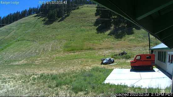 Badger Mountain webcam hoje à hora de almoço