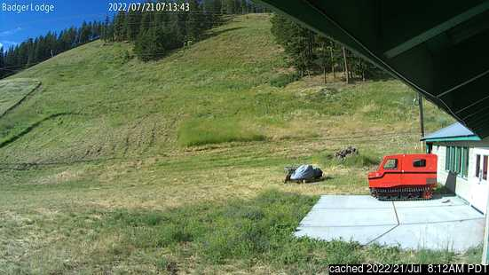 Live webcam per Badger Mountain se disponibile