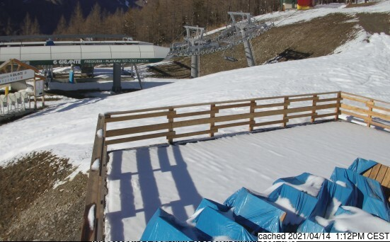 Bardonecchia webcam at lunchtime today