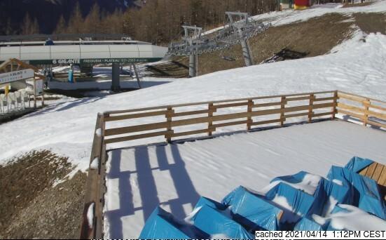 Webcam de Bardonecchia à 14h hier