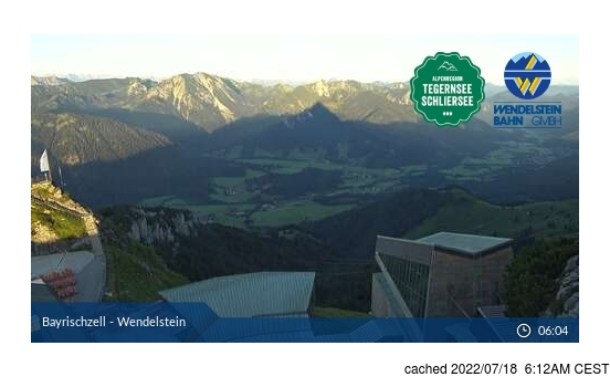 Live Snow webcam for Bayrischzell-Brannenburg/Wendelstein