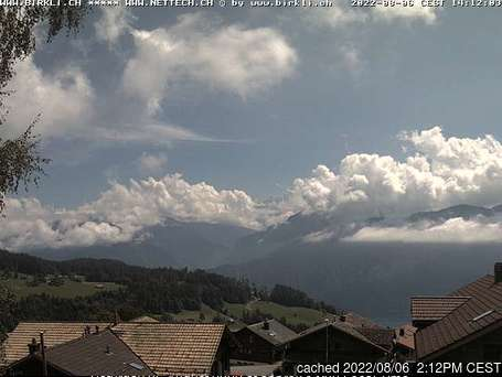 Beatenberg webcam alle 2 di ieri sera