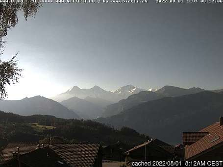 Live Webcam für Beatenberg