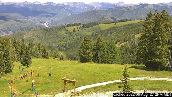 Beaver Creek webcam alle 2 di ieri sera