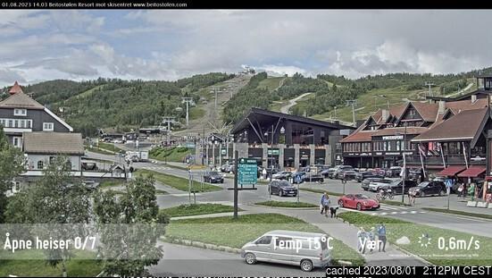 Webcam de Beitostølen à 14h hier