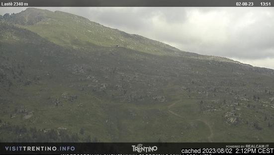 Ski Area Alpe Lusia webkamera ze včerejška ve 14 hod.