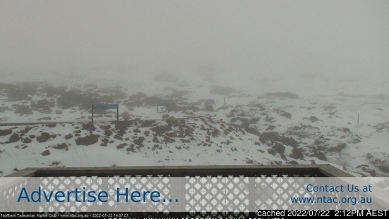Ben Lomond webcam at 2pm yesterday