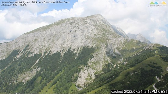 Berchtesgaden webcam at lunchtime today